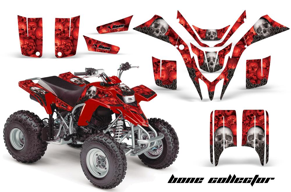 Yamaha Blaster Graphics Kit BoneCollector Red (1019 of 1383)